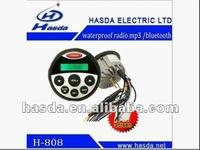 motorcycle audio system fm radio mp3