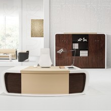 Latest model wood veneer executive table, MDF Office Table,Office Desk