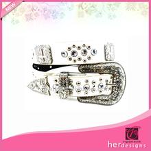 cinta brillante al por mayor cinturones de diamantes de imitación de diamante de imitación de fantasía de la correa