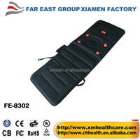 Infrared Heat and Vibrating Motors Massage Bed Mattress Pad(FE-8302)