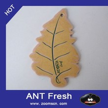 lovely maple leaf shaped hanging paper car air freshener