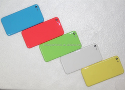Colorful Hard Wholesale Price Back Cover Housing Case Replacement for Apple iPhone 5c