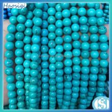 2015 Hot wholesale natural turquoise stone bead colorful turquoise gemstone
