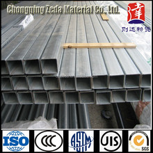 Direct factory price Galvanized piping, good quality square square Galvanized steel pipe with prime quality price list