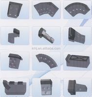 tungsten carbide shield cutter tips