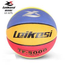 shinny basketball, Size 7 imitated-PU basketball