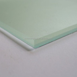 6mm Competitive Price Acid Etched Glass For Decorative Office And Home Interior