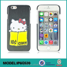 Beautiful design hello kitty cartoon case for iPhone 6 , case for iPhone 6 plus