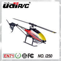 UDIRC I250 Single Rotor Blade helicopter 6CH RC Hobby