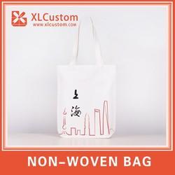 High quality promotional Canvas custom printing shopping bag