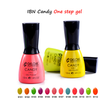 Ibn sweet candy style one step gel, gel nail polish wholesale