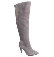 2015 winter women high heel latex thigh high boots