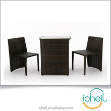 Space Saving Rattan Dining Set/Simply Style Home Furniture/