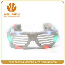 Party event led flashing sunglasses,glow in the dark colorful led sunglasses