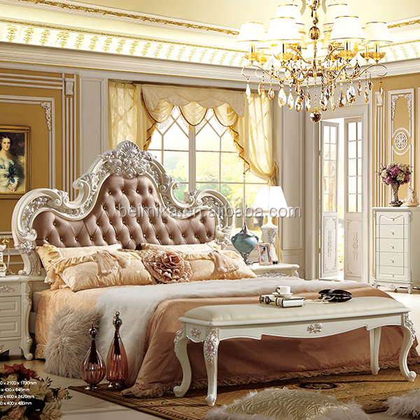 moderne de lits de luxe royal style chambre ensemble lots de literie id de produit 60160755514. Black Bedroom Furniture Sets. Home Design Ideas