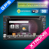 TD610A: 6.2 inch Digital Touch Screen Android double din car audio fit HYUNDAI and Nissan