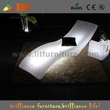 luxury chaise lounge/chairs indoor chaise lounge/LED sun loungers