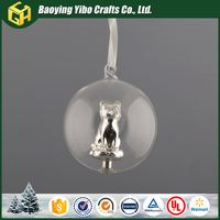 Wholesale Custom High quality clear glass decorative balls