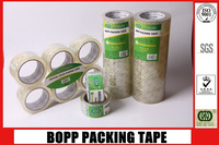 transparent/ clear self adhesive opp packing tape made in china