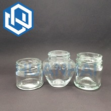 Glass Food Storage Jars with Caps and Lids Lead Free Food Grade Glass