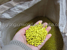 2015 rainbow Factory sale wpc wood composite raw material, WPC granules wholesale