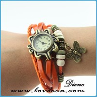 Cute watch waterproof / Fancy watches women / watches with butterfly charm