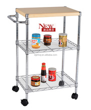 3 tier Mobil kitchen cart Best Kitchen Furniture for a Small Kitchen