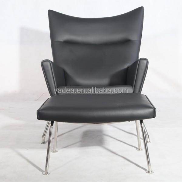 living room furniture designer chair replica hans wegner ch445 wing