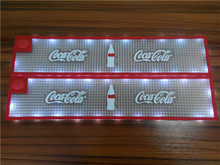 2016 Hot Sale New Fashion Custom Soft PVC LED Light Mat With 2D or 3D Logo