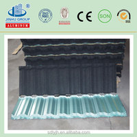Metal Roof Material Colorful Stone Coated Roofing Tiles For House