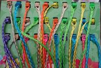 30pcs per pack Bohemia cute girl colorful hair Accessories Hairpins Wig braids Wholesale hair braids for Children