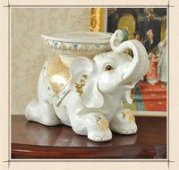 Long42*wide 22*H38cm Elephant Resin Animal Statue for living room