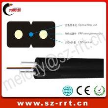de interior fttx 4 núcleos caída de cables de fibra óptica
