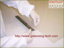 Ventana 24''inch táctil interactiva de papel de aluminio/3d de proyección/espectros de tela