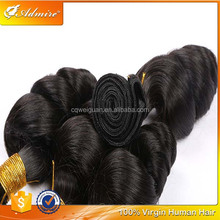 Wholesale 8 to 30 Inch Loose Wave Brazilian Hair Weave 100% Virgin Brazilian Human Hair Loose Wave for Black Women