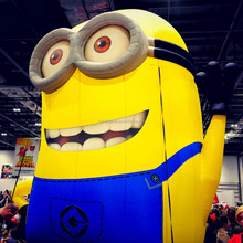 2015 hot sale giant custom made inflatables, inflatable minion