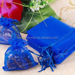organza pouch,gift drawstring pouch,customed logo