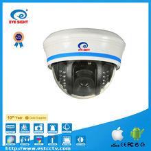 hot selling megapixel vivid image wifi dome network camera cctv