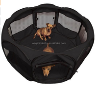 2015 outdoor yard and roof cover incuded with pop up mesh kennel w/handle