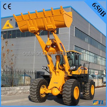Low prices 5 ton wheel loader, rc hydraulic wheel loader 650 with CE for sale