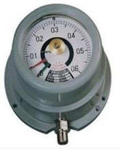 Explosion-proof induction electric contact pressure gauge