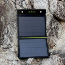 2015 new products Foldable Dual-Port 10 W rohs solar cell phone charger for mobile phone