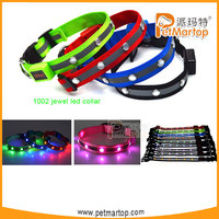 easy sell items jewel dog collar TZ-PET1002 pets supplies pet accessories distribution opportunity