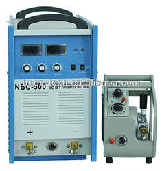 Top quality DC igbt nbc 250 inverter industrial mig welding machines
