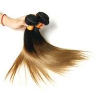 6A Ombre Hair Extension One Piece 18 Inch Double Layers Original Indian Hair Wholesale