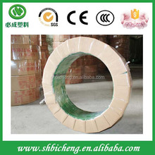 High quality 16mm automatic green pet strap for brick packing