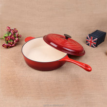 hot sale long handle deep saucepan