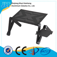 Multi purpose laptop lap desks with many cooling holes and fan