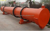Efficiency agricultural hot smoke palm efb fiber rotary dryer made in china