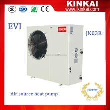 12kw CE approved EVI heat pump air to water split type( heat exchanger put indoor unit )